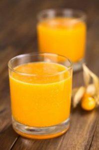 receta de jugo de aguaymanto
