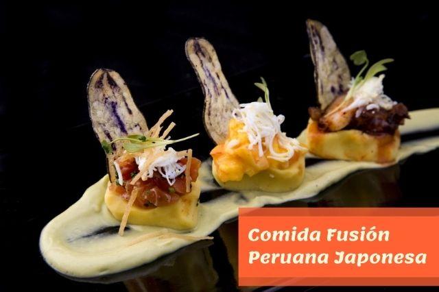 Fusión Peruana Japonesa