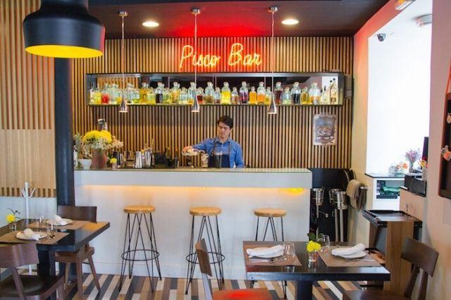 restaurante peruano Tiradito & Pisco Bar
