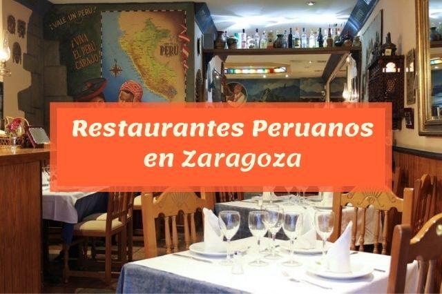 ¿Cuál es el mejor restaurante peruano en Zaragoza?