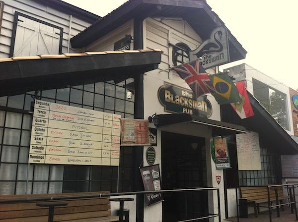 The Blackswan Pub, almoço executivo