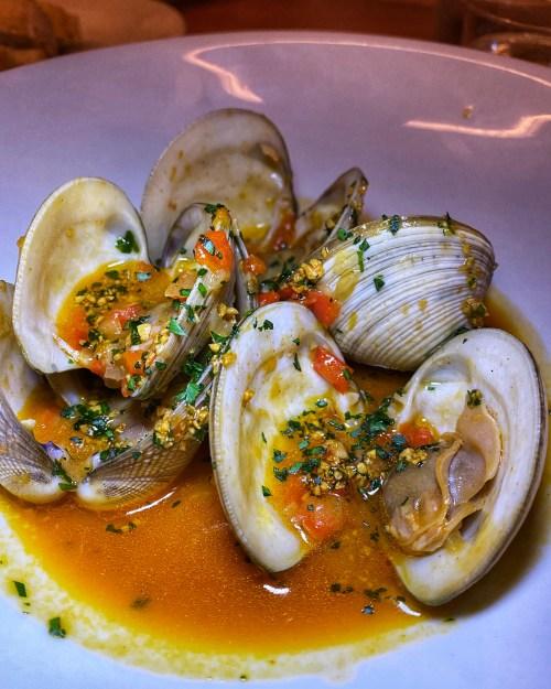 Almejas en salsa marinera - Vera