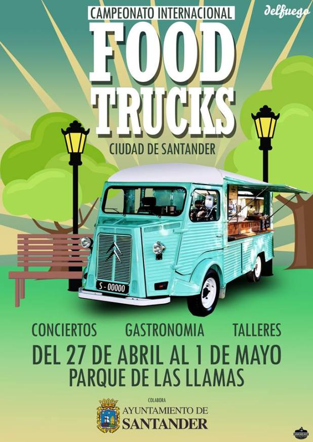 Campeonato Internacional de Foodtrucks Ciudad de Santander