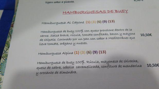 Duke's Maliaño Carta