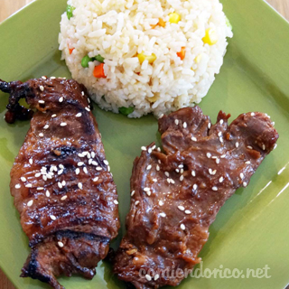 Mongolian Beff – Bistec con Salsa China – Video