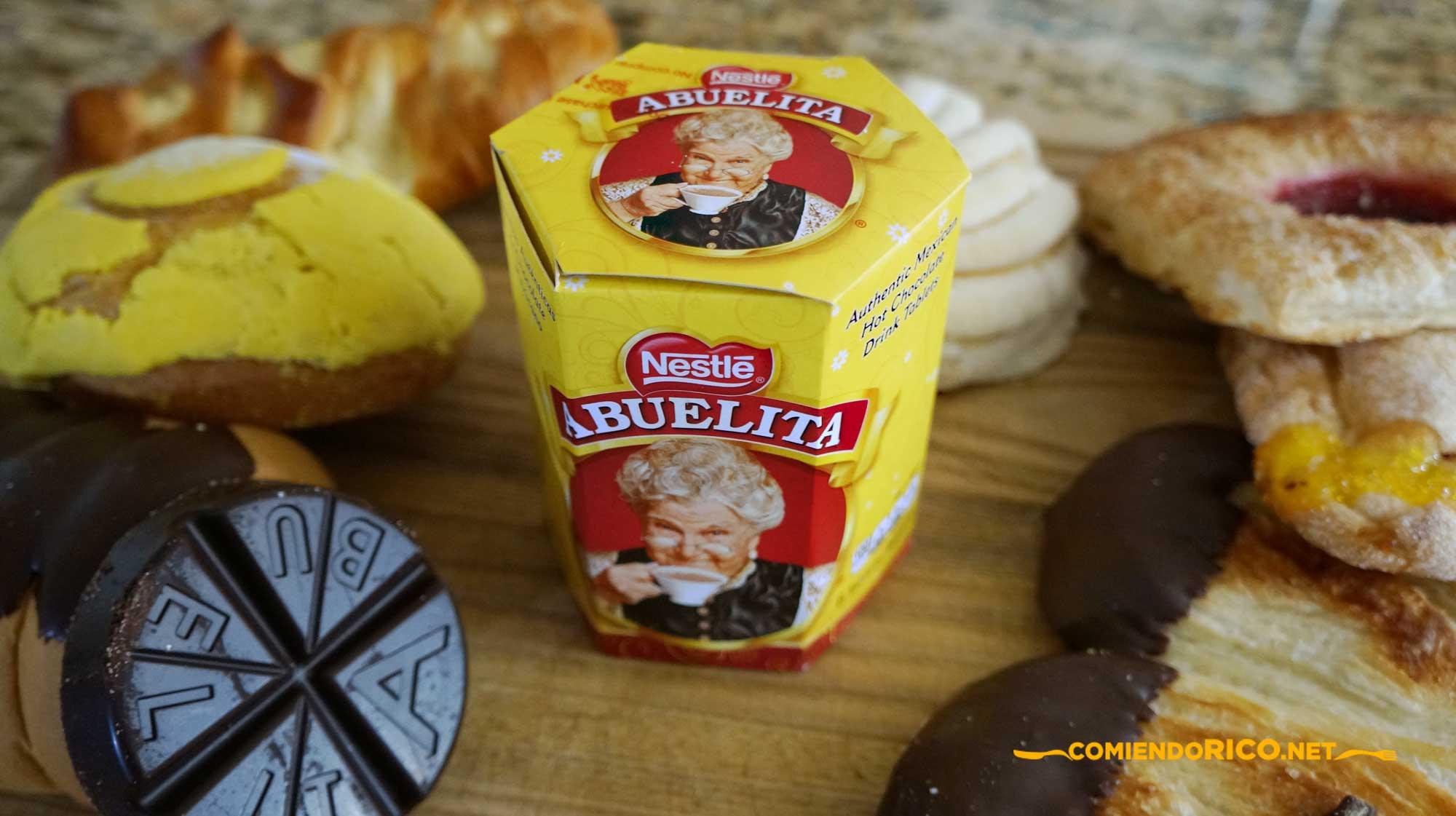 Chocolate Abulita, Comiendo Rico, Nestle