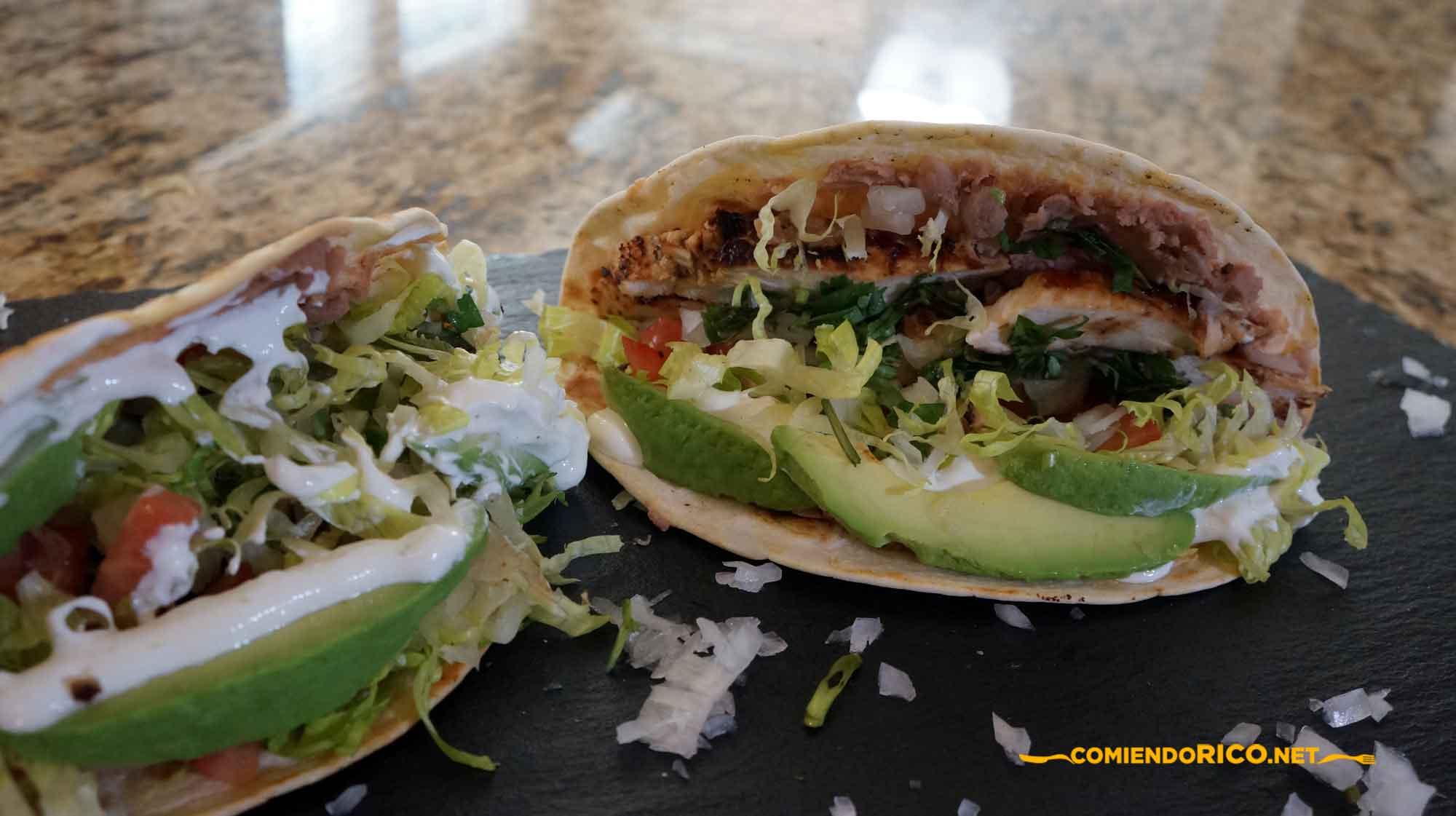 Tacos Norteños, tacos, Comiendo Rico