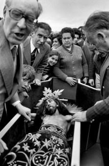 SPAIN. Penas de San Pedro.The Christ of El Sahuco, 1982