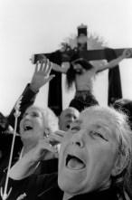 SPAIN. Penas de San Pedro. 1978. Long live Jesus Christ!