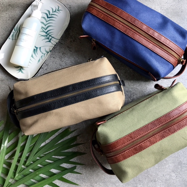 DRY WAXED CANVAS BAGS