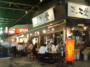 上野の高架下