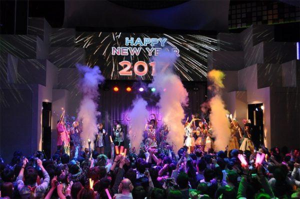 東京ジョイポリス カウントダウンパーティ2018