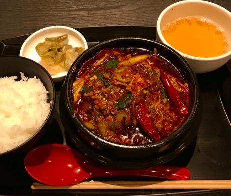 火鍋肉団子定食