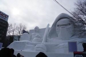 北海道あるあるネタ:雪まつりにカップルでいくと別れる