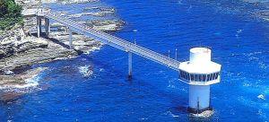 かつうら海中公園 海中展望塔