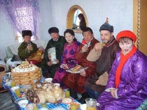 モンゴル人女性7