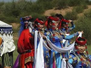 モンゴル人女性5