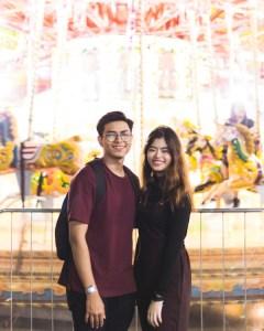 シンガポールのカップル2