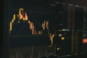 乱高下するビットコインのチャート