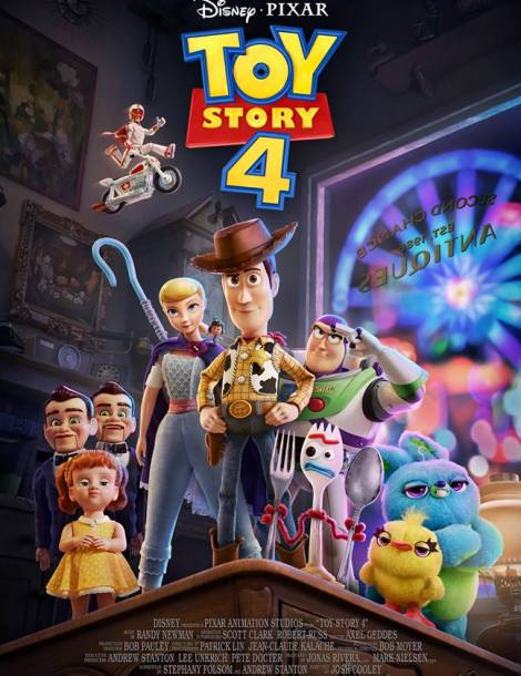 Sinopsis, trailer y poster de Toy Story 4