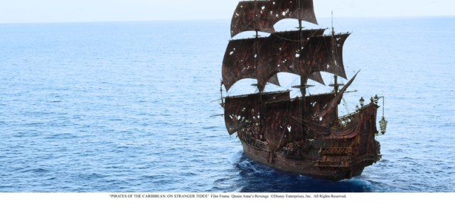 pirate ship Pirates of the Caribbean On Stranger Tides