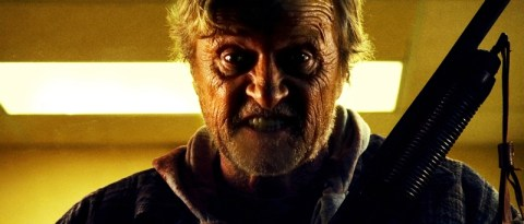 Rutger Hauer in HOBO WITH A SHOTGUN, a Magnet Release.  Photo courtesy of Magnet Releasing.  Photo credit: Karim Hussain