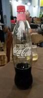 Coke in glass...