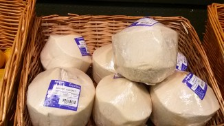 Shaved coconut wrapped in plastic. Seriously?!