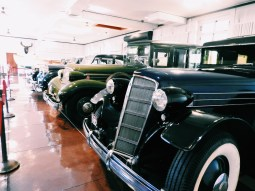 """family collection of Rolls Royces, Cadillacs, Buicks, and other luxury motorcars.. heaven for any car enthusiast. I felt like Audrey Hepburn in """"Sabrina,"""" except minus the carbon monoxide"""