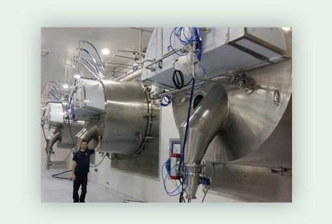 Large Horizontal Pharma Peeler Sterilized with Vaporized Hydrogen Peroxide