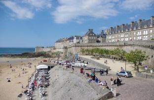 Vue de St-Malo !