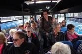 Prise en charge par autocar à St-Hélier pour le centre ville.