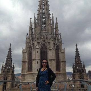 Terraço da Catedral de Barcelona