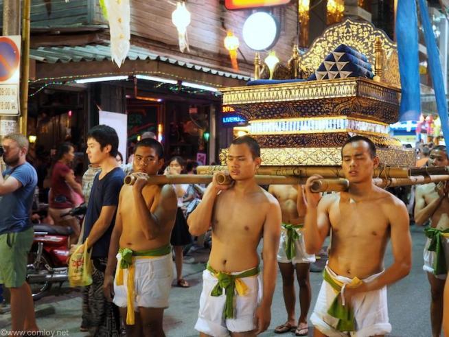 タイ風お神輿