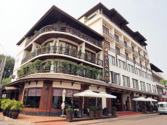 Salana Boutique Hotel,Vientiane外観