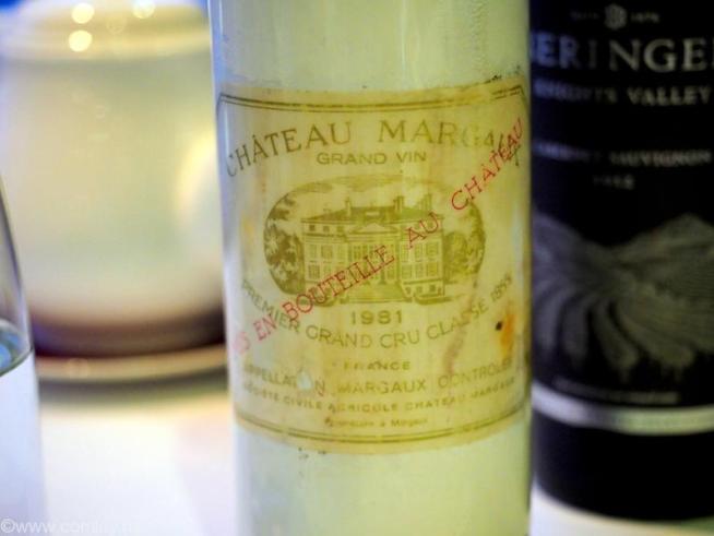 chateau margaux 1981