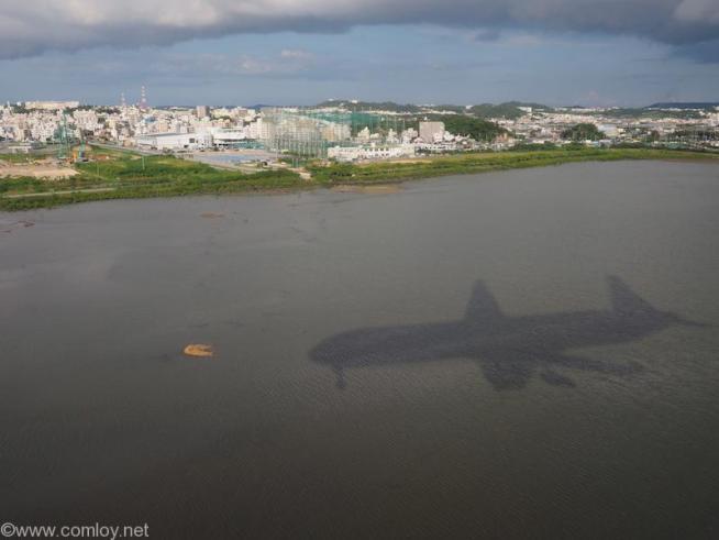 日本航空 JAL919 羽田 ー 沖縄 那覇空港到着