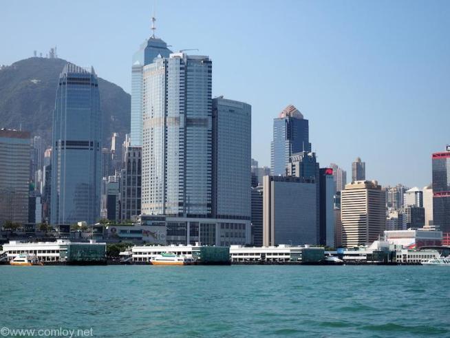香港島フェリー乗り場