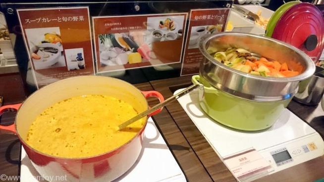 三井ガーデンホテル札幌 朝食バイキング