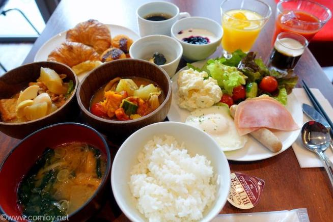 三井ガーデンホテル札幌 朝食バイキング 2日目