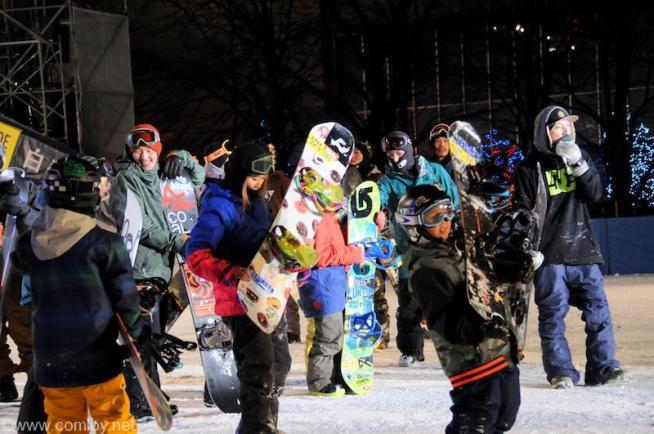 SAPPORO SNOW FESTIVAL 2015 snow board park