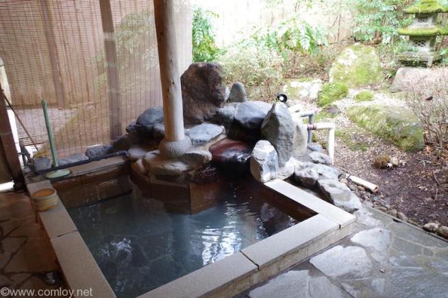 仙石高原箱根一の湯 露天風呂
