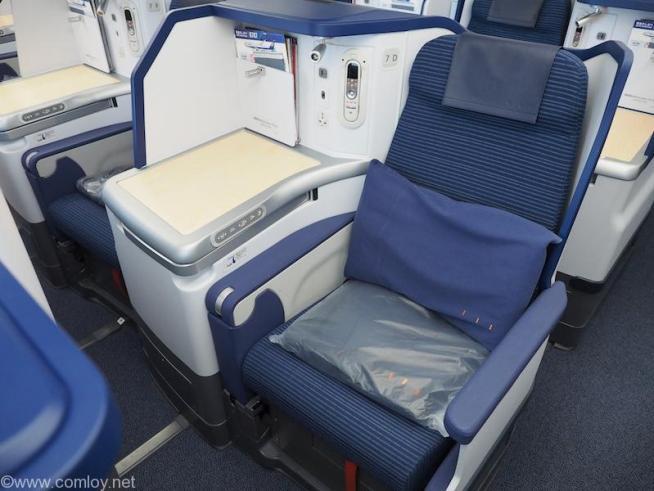 NH850 バンコク - 羽田 ビジネスクラス シート