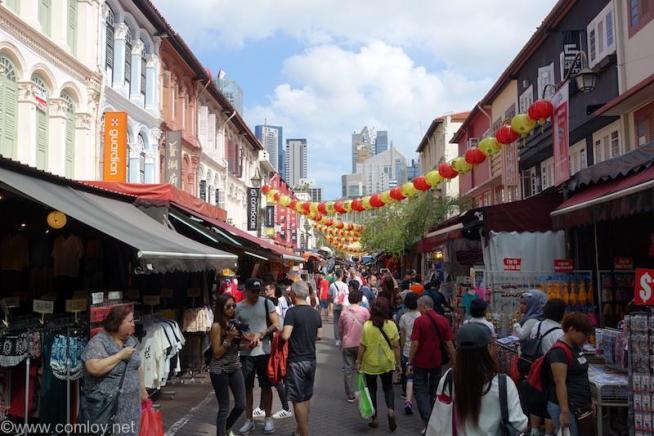 シンガポール 中華街