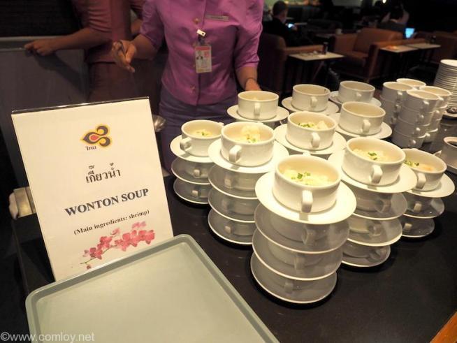 スワンナプーム空港 タイ航空ラウンジ