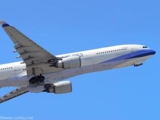 Chaina Airlines 離陸 車輪格納中