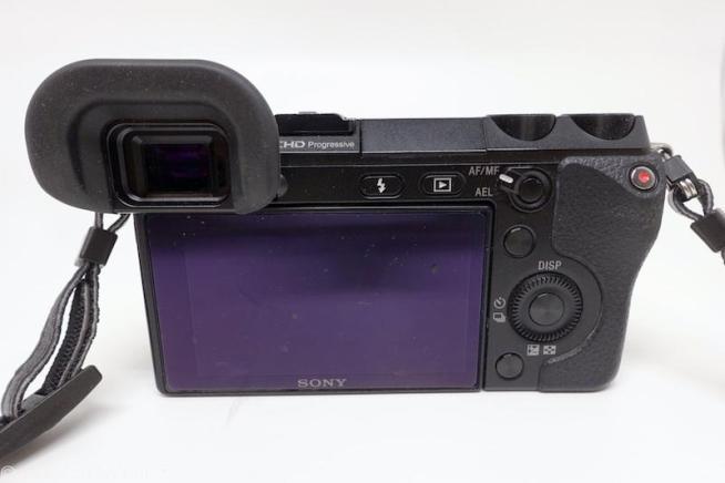 NEX-7+Lens Turbo Ⅱ+PENTAX A 50mm+FDA-EV1MKのアイピースカップ
