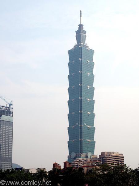 台北101を望む