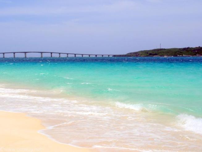 宮古島 来間大橋と海