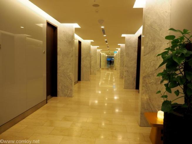 Changi Airport Terminal 1 Qantas Singapore Lounge Shower Room